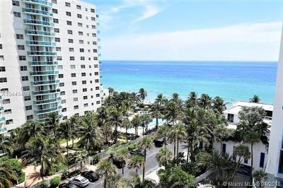 Hollywood Condo For Sale: 4001 S Ocean Dr #8P