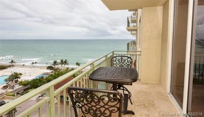 Hallandale Condo For Sale: 2080 S Ocean Dr #906