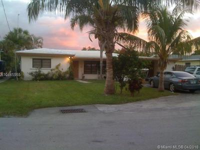 Fort Lauderdale Single Family Home For Sale: 1714 W Las Olas Blvd