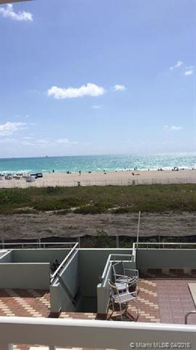 Miami Beach Condo For Sale: 401 Ocean Dr #316