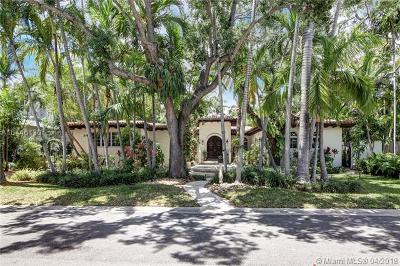 Miami Beach Single Family Home For Sale: 2524 Regatta Ave