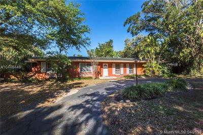 Pinecrest Single Family Home For Sale: 9800 SW 69th Ave