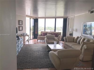 Miami Shores Condo For Sale: 2000 Towerside Ter #704
