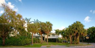 Key Biscayne Single Family Home For Sale: 375 Harbor Dr