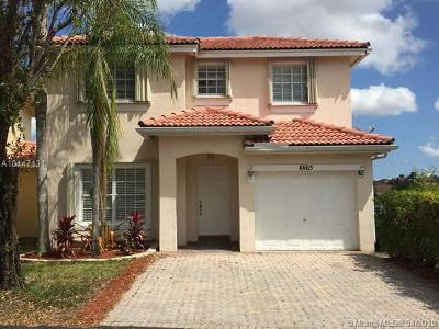 Single Family Home For Sale: 10165 SW 163rd Ave