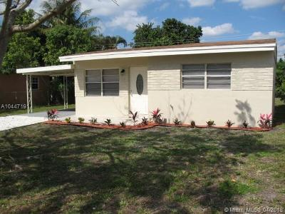 Miramar Single Family Home For Sale: 6533 SW 23rd St