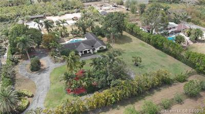 Homestead Single Family Home For Sale: 18350 SW 254th St