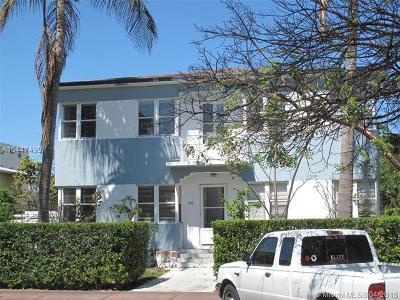 Miami Beach Multi Family Home For Sale: 969 Bay Dr