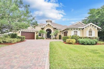 Davie Single Family Home For Sale: 12801 Trotter Blvd