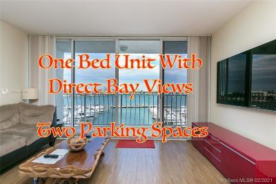 North Bay Village Condo For Sale: 7601 E Treasure Dr #519