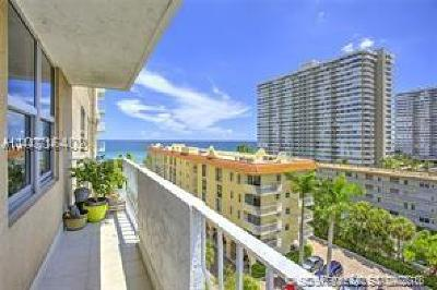 Hallandale Condo For Sale: 1920 S Ocean Dr #8A
