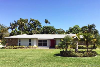 Davie Single Family Home For Sale: 4470 SW 105th Ave