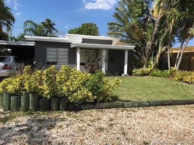 Fort Lauderdale Single Family Home For Sale: 1777 NE 17th St