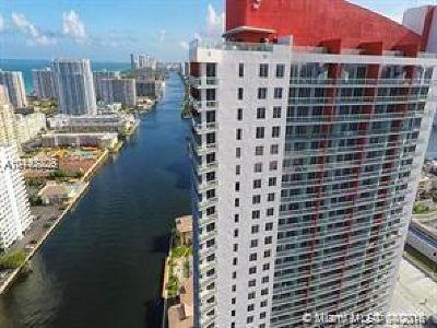 Hallandale Condo For Sale: 2602 E Hallandale Beach Bl #R2401