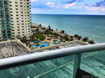 Hollywood Condo For Sale: 3901 S Ocean Dr #10D
