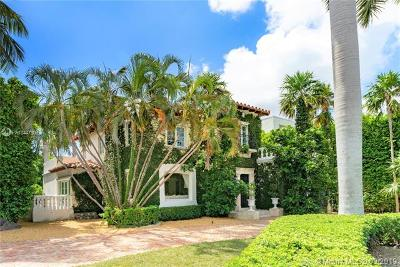 Miami Beach Single Family Home For Sale: 230 Palm Ave