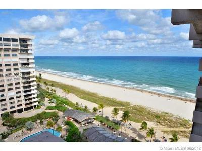 Lauderdale By The Sea Condo For Sale: 4900 N Ocean Boulevard #1506
