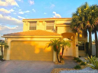Pembroke Pines Single Family Home Active With Contract: 2135 NW 158th Ave