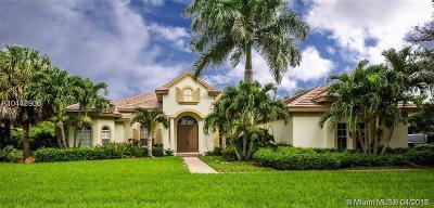 Davie Single Family Home For Sale: 12705 N Winners Cir