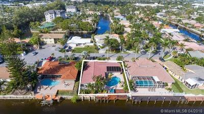 Fort Lauderdale Single Family Home For Sale: 5830 NE 14th Rd