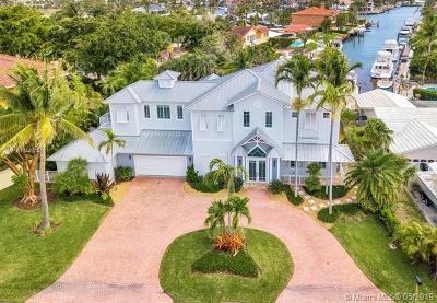 Pompano Beach FL Single Family Home For Sale: $2,290,000