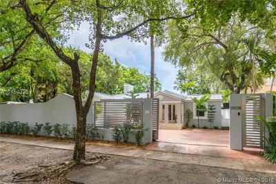 Coconut Grove FL Single Family Home For Sale: $1,175,000