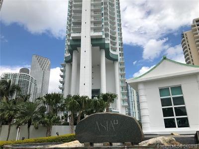 Asia Condo, Asia Condominium, Asia Condo For Sale: 900 Brickell Key Blvd #2702