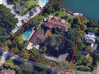 Miami Beach Single Family Home For Sale: 5005 Lakeview