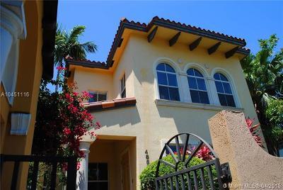 Coral Gables Condo For Sale: 4855 Ponce De Leon Blvd #A