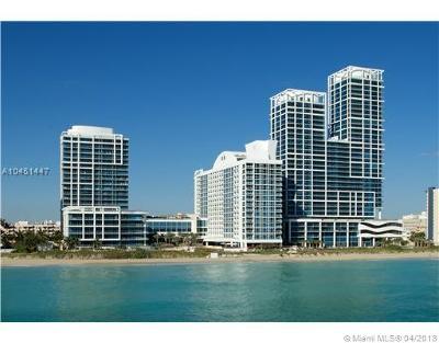 Miami Beach Condo For Sale: 6899 Collins Ave #904