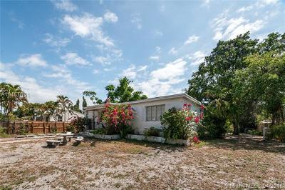 North Miami Single Family Home For Sale: 13715 NW 2nd Ave