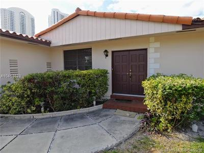 Sunny Isles Beach Single Family Home For Sale: 230 Atlantic Isle