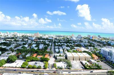 Miami Beach Condo For Sale: 650 West Ave #2808
