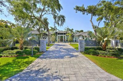 Pinecrest Single Family Home For Sale: 6430 SW 122nd St