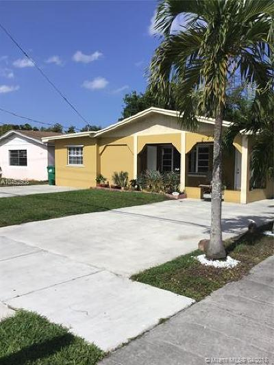 Miami Gardens Single Family Home For Sale: 17725 NW 19th Ave