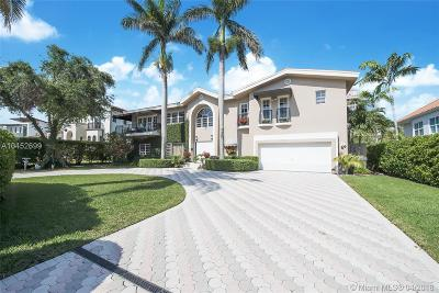 Coral Gables Single Family Home For Sale: 6910 Sunrise Pl