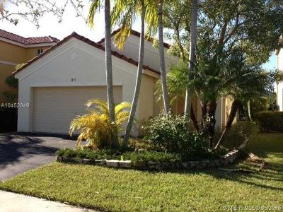 Weston Single Family Home For Sale: 1477 Majesty Ter