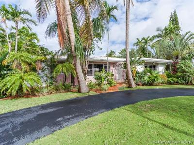 Miami Shores Single Family Home For Sale: 10190 NE 12th Ave