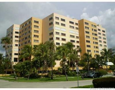 Key Biscayne Condo For Sale: 650 Ocean Dr #9D