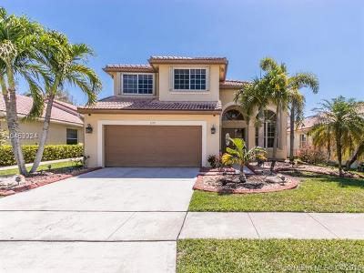 Pembroke Pines Single Family Home For Sale: 1375 SW 181st Avenue