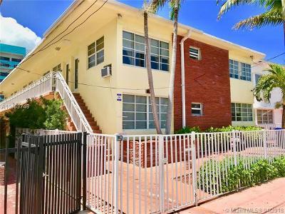 Miami Beach Condo For Sale: 6944 Byron Ave #3
