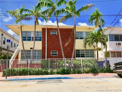 Miami Beach Condo For Sale: 6944 Byron Ave #14