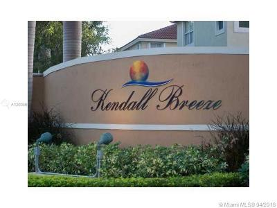 Kendall Breeze, Kendall Breeze South Condo For Sale: 12406 SW 126th Ave #12406