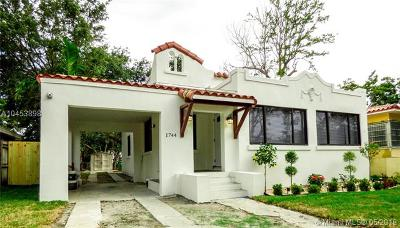 Miami Single Family Home For Sale: 1744 SW 22nd Ter