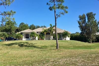 Palm Beach County Single Family Home For Sale: 14974 N 75th Ln N