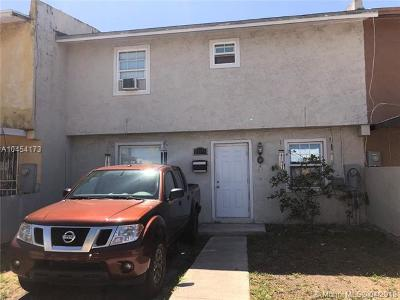 Miami Gardens Single Family Home For Sale: 19174 NW 46th Ave