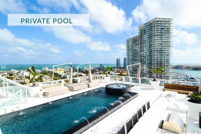 Miami Beach Condo For Sale: 520 West Ave #PH-B