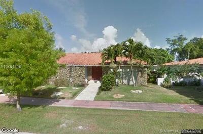 Miami Beach Single Family Home For Sale: 1090-1100 North Shore