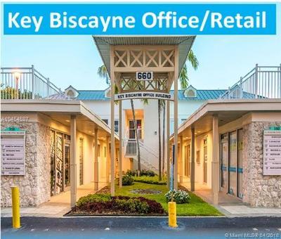 Key Biscayne Commercial For Sale: 660 Crandon Blvd