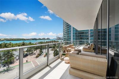 Miami Beach Condo For Sale: 801 S Pointe Dr #501